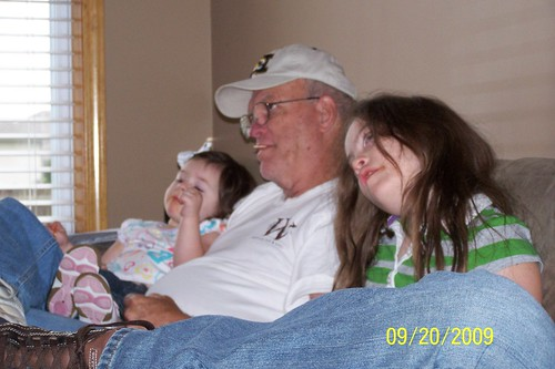 Sarge and his little girls