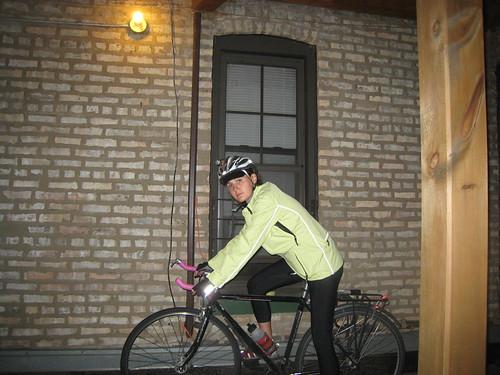 fit on bike