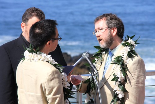 Exchange of Vows: Thom to Jeff