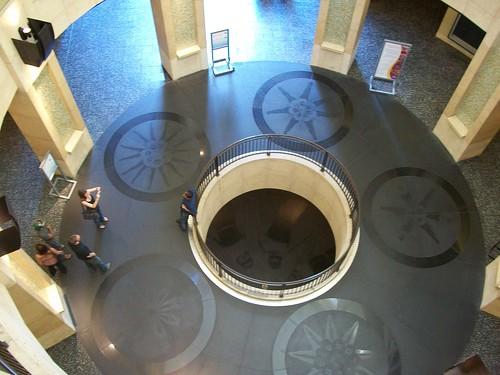 floor inside the Kodak Theatre