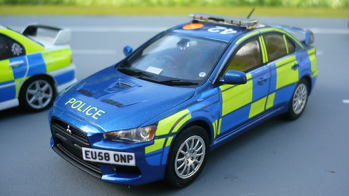 1:43 Code 3 Mitsubishi Evolution X Essex Police TST ANPR Intercept Team