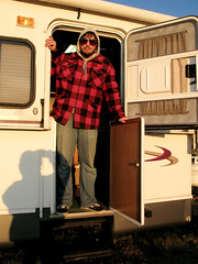 IMG_0797 (BurlapZack) Tags: camping sunglasses colorado jacket co flannel pointandshoot rv camper rvlife canonpowershotg9 campvibes