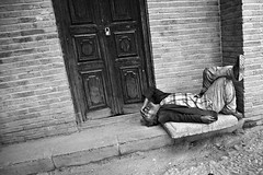 Addict (Ali Majdfar) Tags: door nap lock sleep addiction    gettyimagesmiddleeast
