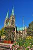Gamla torget i Skara (foje64) Tags: cathedral sweden gothic hdr domkyrka skara västergötland skaradomkyrka skaracathedral canoneos500d