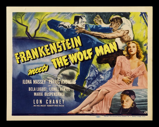 Frankenstein Meets The Wolf Man (1943) 1