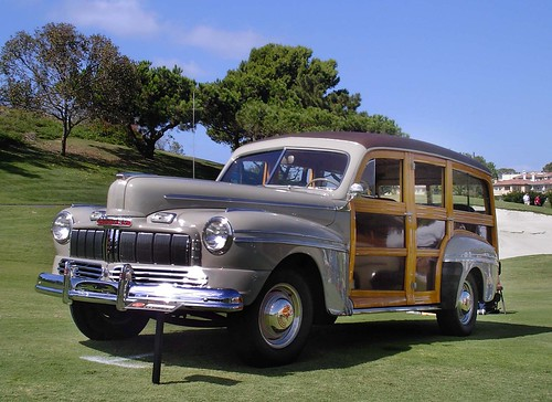 #6 1946 Mercury Woodie Station