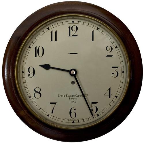 "12"" Office Dial Slave Clock Arabic IMG_667520091010-01"