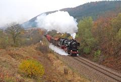 52 8154 (maurizio messa) Tags: railroad germany thringen railway trains steam bahn mau germania freighttrain ferrovia treni dampf plandampf vapore br52 nikond40x werrabahn guterzuge teamlorie 528154