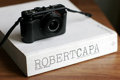 lx3 and robert capa book (.emong) Tags: camera stilllife canon lumix book object philippines canoneos20d panasonic manila magnum photojournalist robertcapa warphotographer mandaluyong lx3 canonef50mmf12lusm