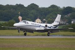 G-VUEA - 550-0671 - Private - Cessna 550 Citation II - Luton - 090616 - Steven Gray - IMG_4374