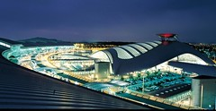 Incheon International Airport()_SOUTH KOREA (KoreaBrand-01) Tags: light night airport korea international seoul nightview southkorea 2009 incheon    republicofkorea   mywinners colorphotoaward  rpubliquedecore poblachtnacir