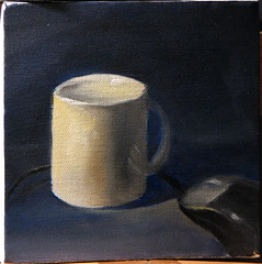 Morning friends (shehaub) Tags: stilllife oilpainting dailypainting