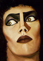 Frank N Furter (vokoban) Tags: art illustration artwork rockyhorror rockyhorrorpictureshow oilpainting franknfurter timcurry