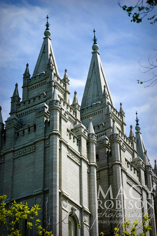 Salt Lake City Utah LDS (Mormon) Temple