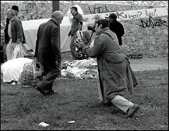 Flash on face ! (Costas Lycavittos) Tags: street people blackandwhite bw nikon sb600 streetphotography athens d300 monastiraki nikkor1224 blackwhitephotos costaslycavittos flashonface