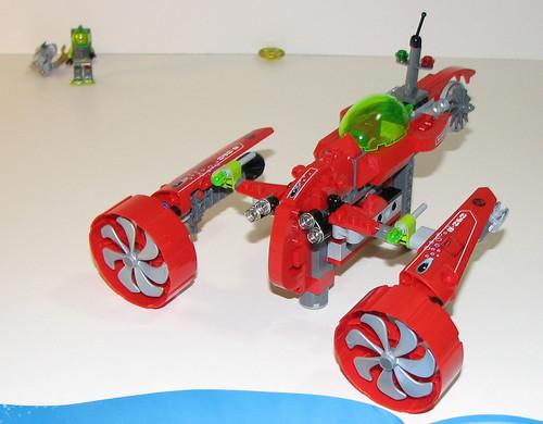 LEGO 8060 Atlantis - Typhoon Turbo Sub - Completed