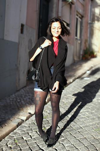 A rapariga dos calções
