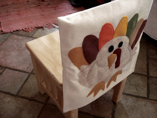 turkey chair cover