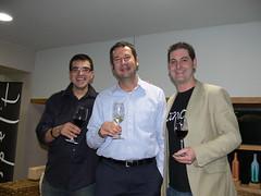 Quina satisfació està rodejat daquest dos monstres del món del vi!