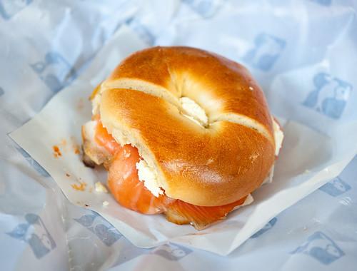 Meshugge sandwich!