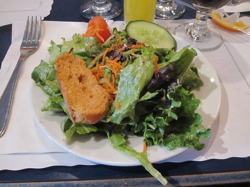 Brunch at L'Estaminet - salad