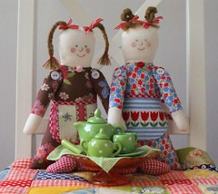 teaparty (dutch blue) Tags: doll tea clothdoll