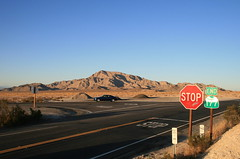 End of the Road (BCooner) Tags: california desert hill stopsign intersection coloradodesert ca62 ca177