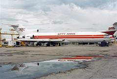 B727-2.N6827 (Airliners) Tags: cargo mia boeing kittyhawk freighter 727 b727 boeing727 896 kittyhawkaircargo 727f b727f n6827