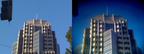 Phone-O-Scope: Distant image comparison