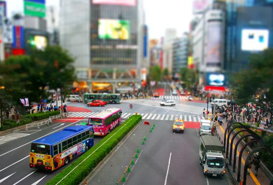 Tilt-shift Tokyo!