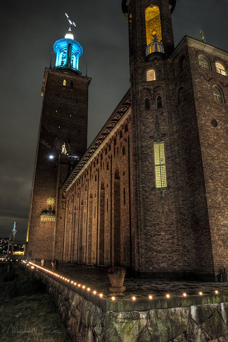 Nobel Prize ceremony at Stockholm City Hall