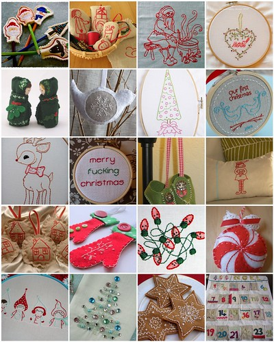 Christmas Embroidery Inspiration