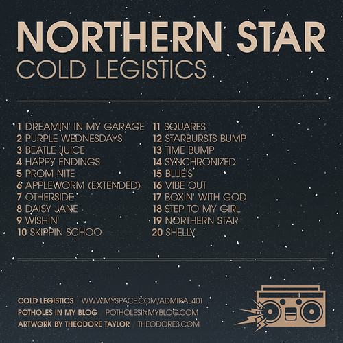 Cold Legistics - <em>Northern Star</em> (Back)