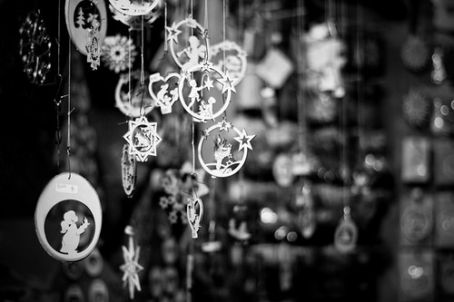 Ornaments at the Augsburg Christkindlesmarkt
