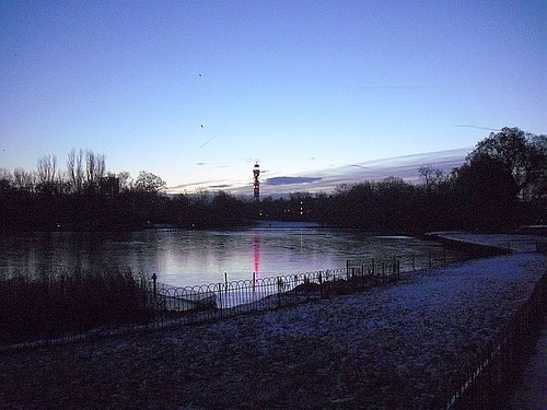 Sunrise In Regents Park