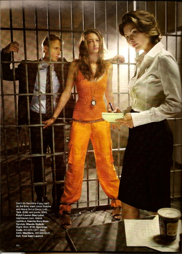 Crime of fashion - Harper's Bazaar  - Nov. 2009 (4)