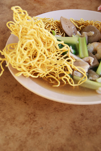 Fried Raw Noodles