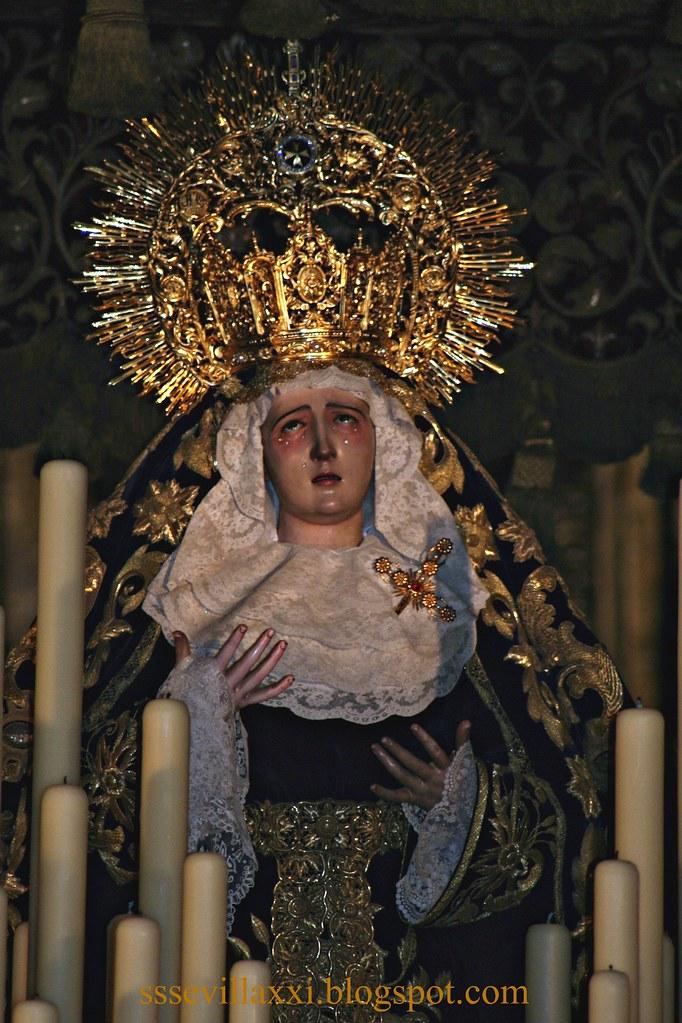 Nuestra Señora de los Dolores. Lunes Santo 2009