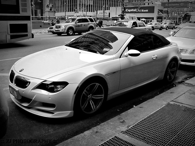 christmas new york trip winter december bmw m6 2009 cabriolet