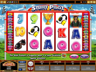 Stunt Pilot slot game online review