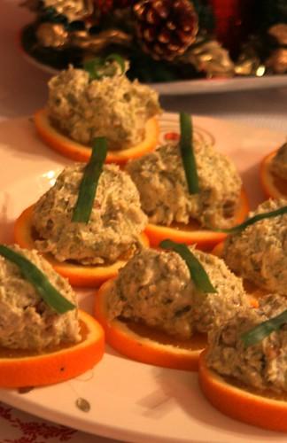 portakal diliminde cevizli kabak salatası