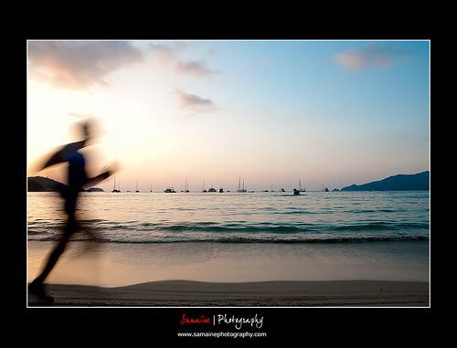 11/52 2010 : Sunset at Patong Beach, Phuket, Thailand