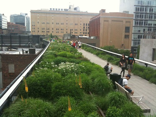 High Line's new section