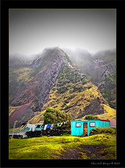 Opti[mist]ic... (Chantal Steyn) Tags: house mist mountain green landscape island nikon clothes laundry shack local clothesline washing optimistic tristandacunha d300 vulcanic nohdr 1685mm