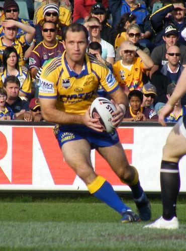 Luke Burt of Parramatta Eels