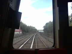 Front Seat of the Red Line