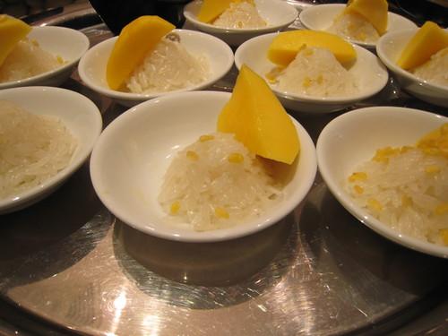 Dessert Station: Mango with Sticky Rice