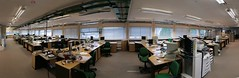 Open space office (jepoirrier) Tags: autostitch panorama house work computer office chair open durham stitch desk space nsi hugin callatawouters postalcode:uk=dh15tq miburngate postalcode:uk=dh15tz