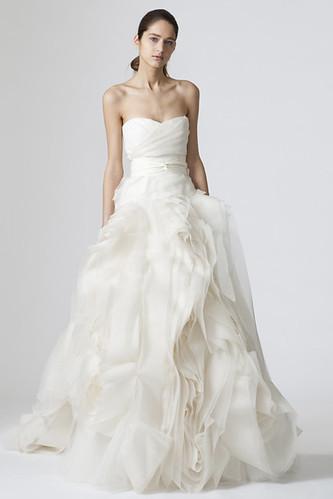 Off White Wedding Dresses By Vera Wang