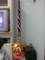 Porquinho (Mayumi ~~~()) Tags: strap chaveiro porquinho